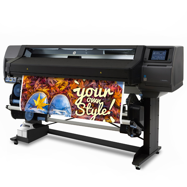"HP Latex 560 Large Format Color Printer - 64"", with efficient Spindleless System (M0E29A)"