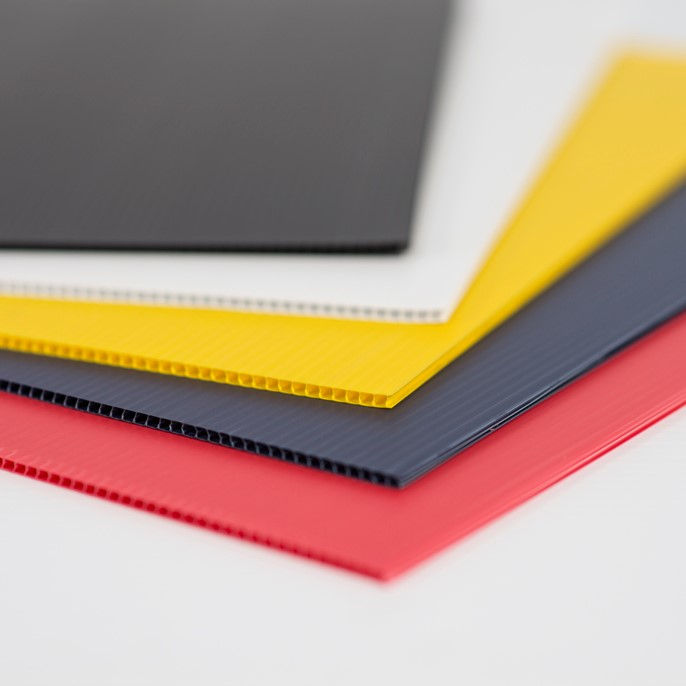 Corrugated Plastic Blanks
