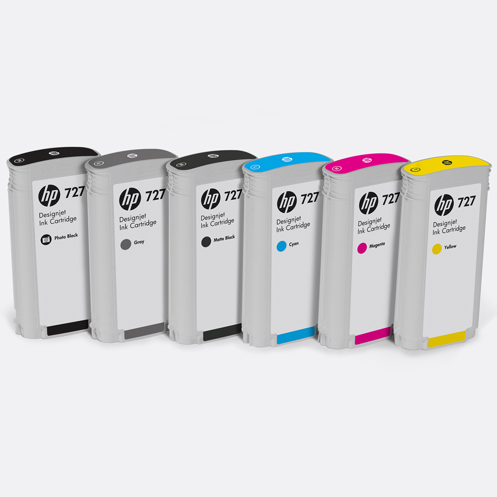 HP 727 DesignJet Inks