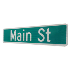 Street Name Sign Blanks