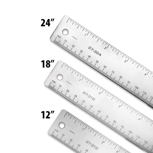Xtreme HD Stainless Steel Rulers