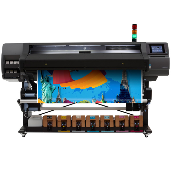 "HP Latex 570 Large Format Color Printer - 64"", with 3-Liter Ink Cartridges (N2G70A)"