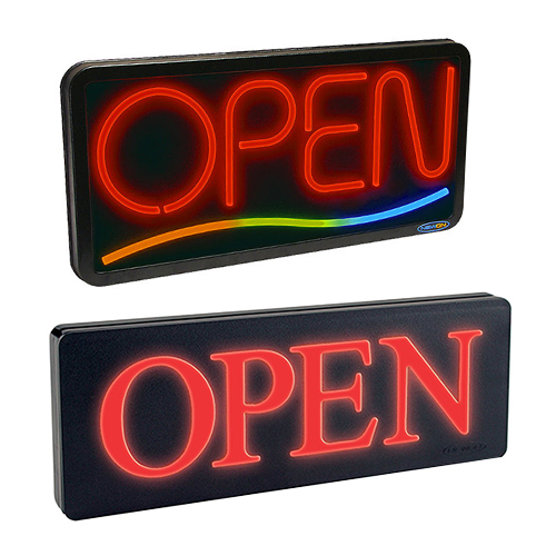 Electric Open Signs