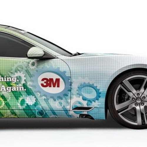 3M™ 8418G Gloss Wrap Overlaminate