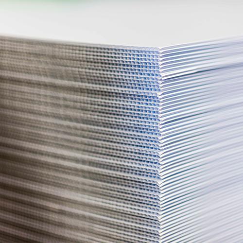 Corrugated Plastic Blanks