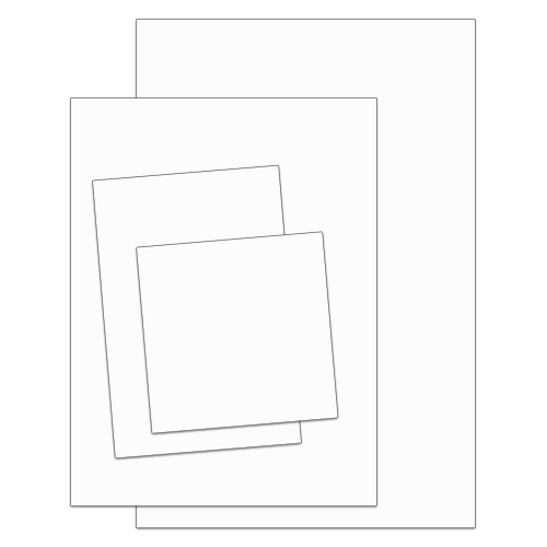 .080 Painted Aluminum Sign Blanks – Square Corners