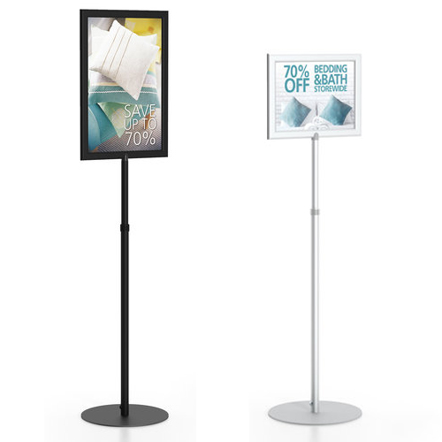 Pedestal Sign Stand - Round Base