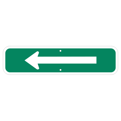Arrow Plaque Sign, Green