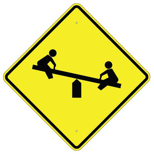 Playground Symbol Sign