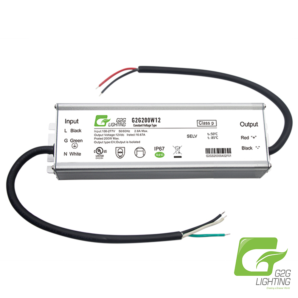 G2G LED 200W Power Supply