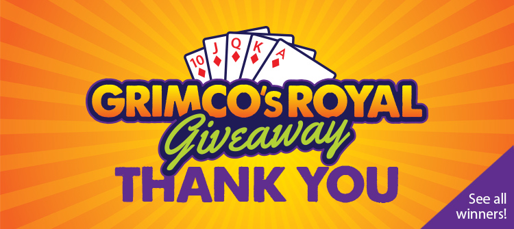 Grimco's Royal Giveaway - Thank You