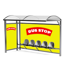 Bus Shelter Graphics