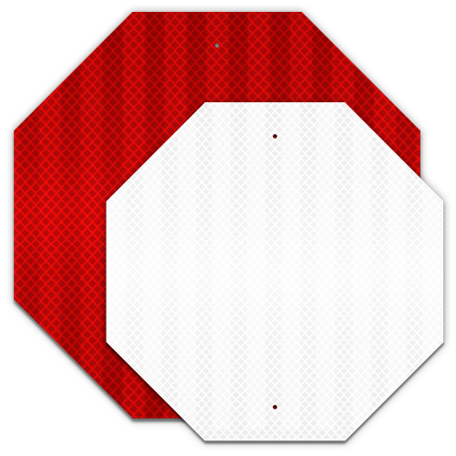 .080 Reflective Blanks EGP – Octagon