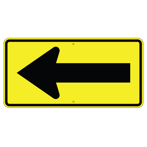 Large Single Arrow Sign