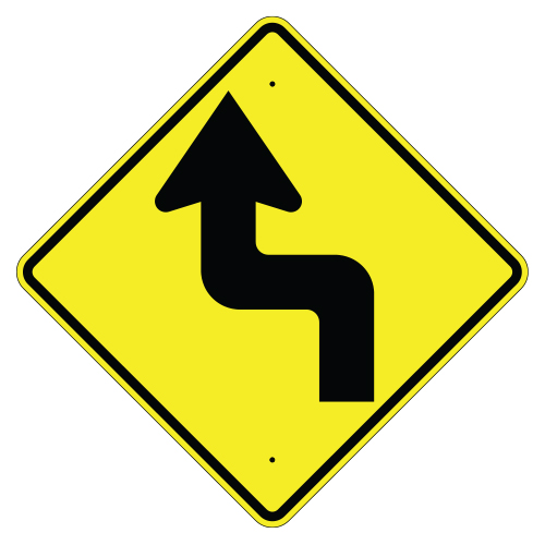 Left Reverse Turn Arrow