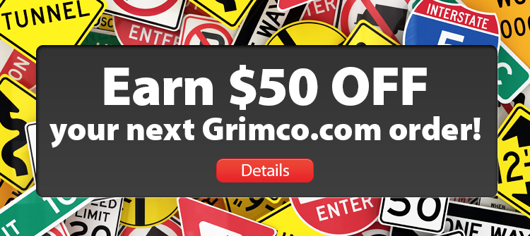 Earn $50 OFF your next Grimco.com purchase! Click to find out how.