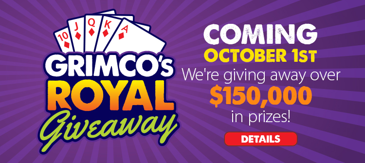 Grimco's Royal Giveaway - Coming October 1st - We're Giving Away Over $150K In Prices!