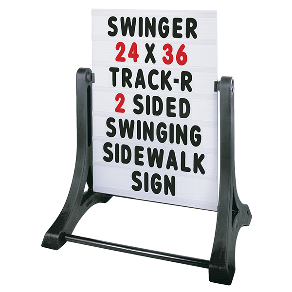 Swinger Message Board Sidewalk Sign