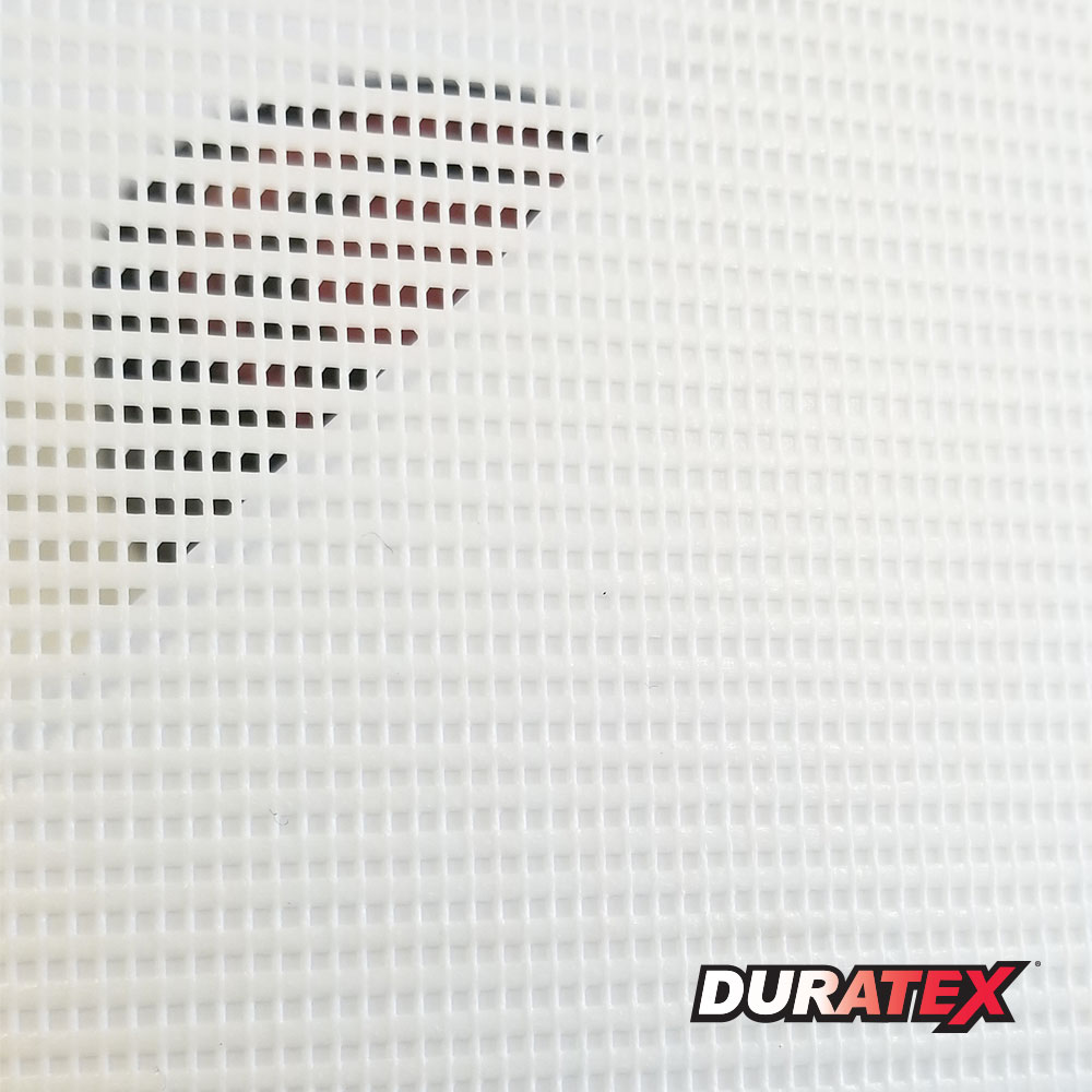 Duratex 8oz Mesh Banner with Backer