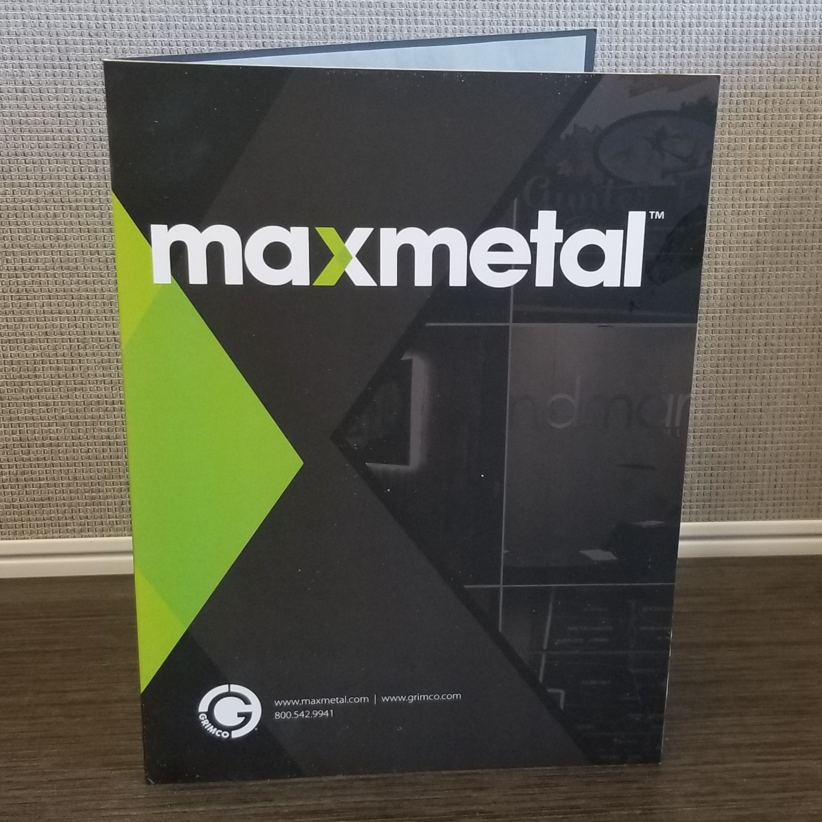 MAX-metal™ Color Card Brochure