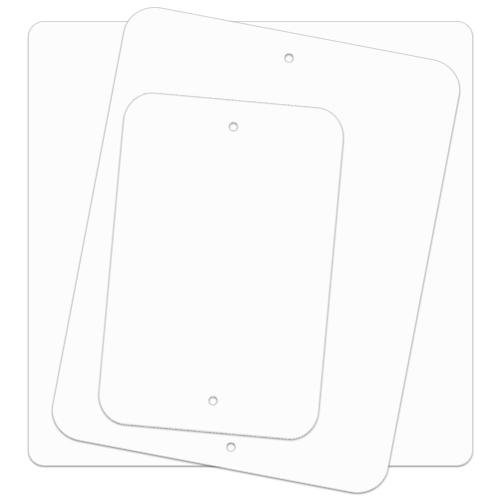 .080 Painted Blanks – Radius Corners