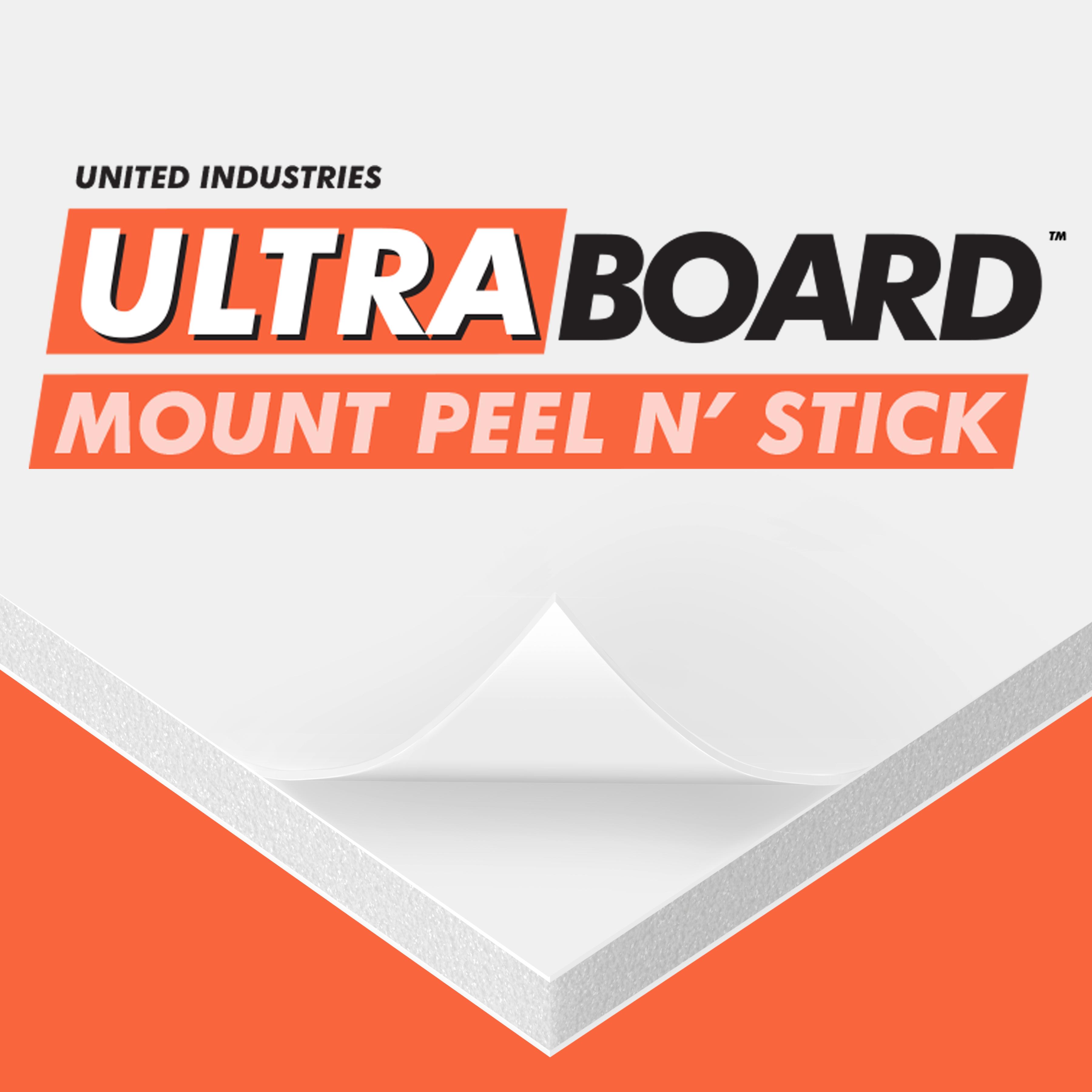 UltraBoard Mount Peel N' Stick