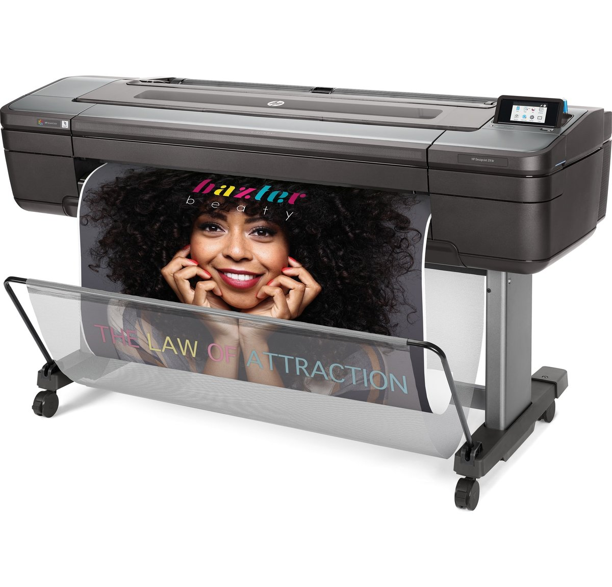 "HP DesignJet Z9⁺ dual roll 44"" PostScript® Printer with Vertical Trimmer (X9D24A)"