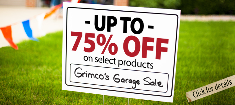 Grimco's Garage Sale - Up to 75% OFF