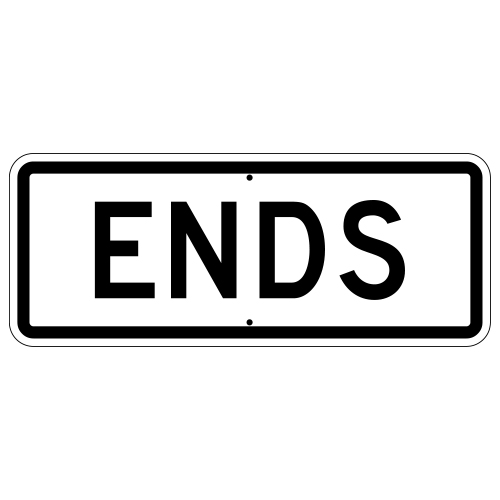 Ends Sign