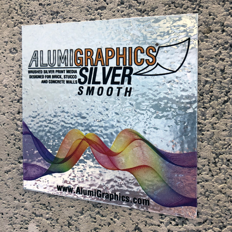 AlumiGraphics Silver Smooth