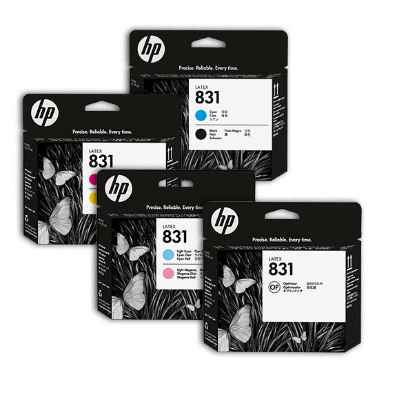 HP 831 Latex Printheads