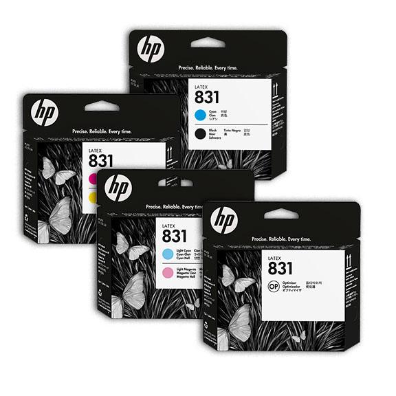 HP 831 Printheads
