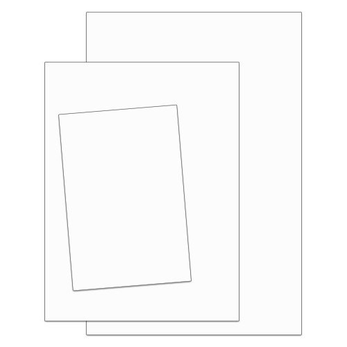 .063 Painted Aluminum Sign Blanks – Square Corners