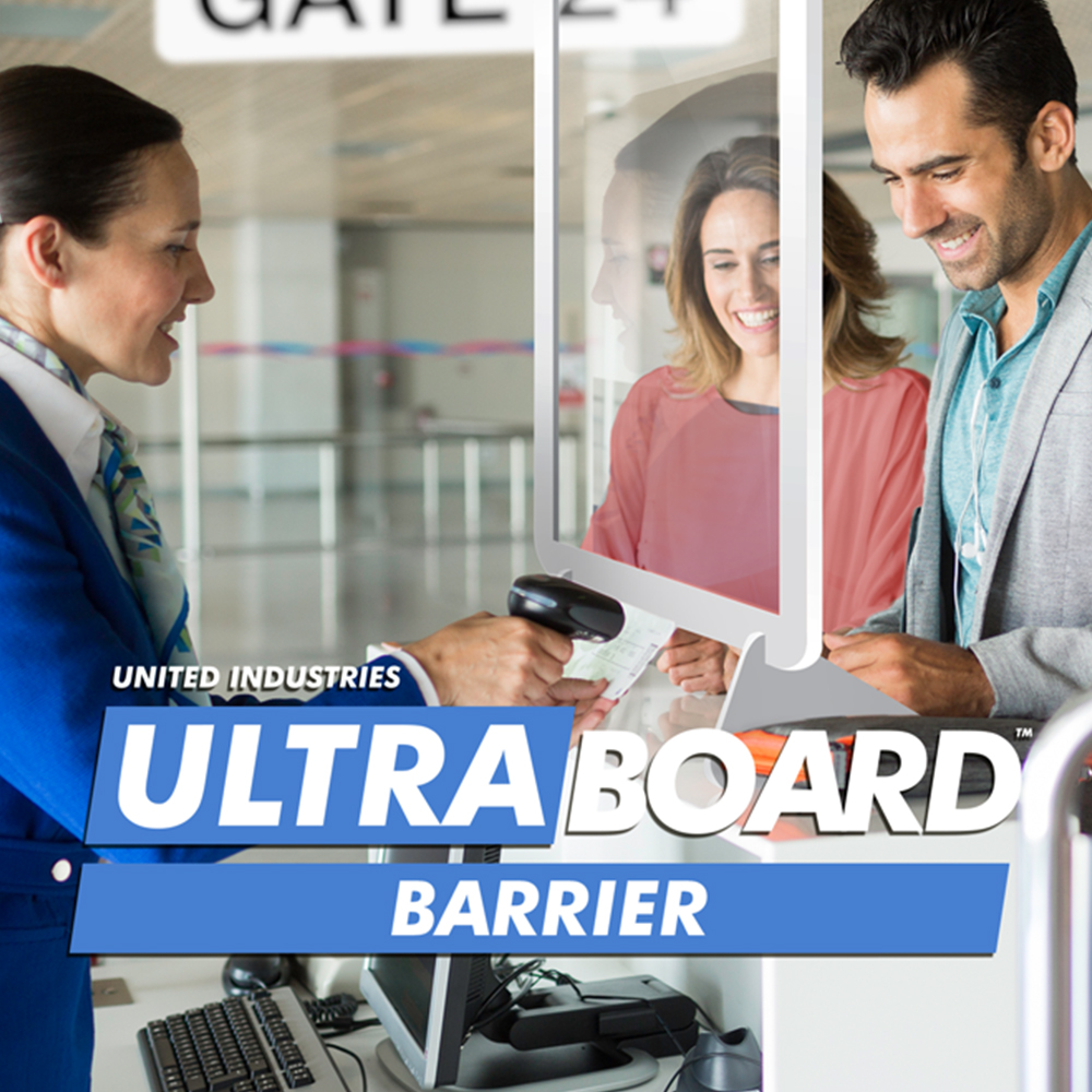 UltraBoard Barrier Social Distancing Protective Shield