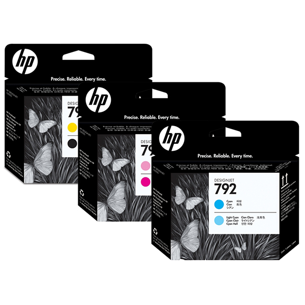 HP 792 Printheads