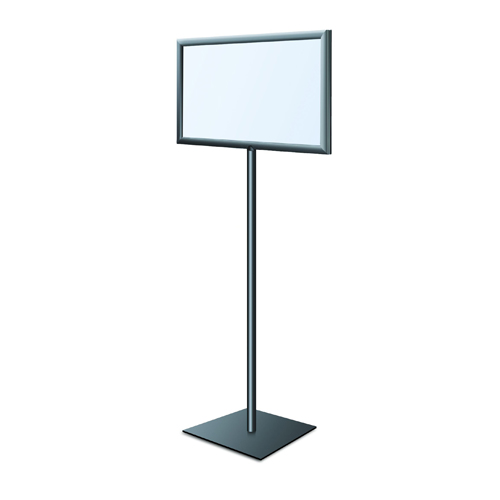 Pedestal Sign Stand - Square Base